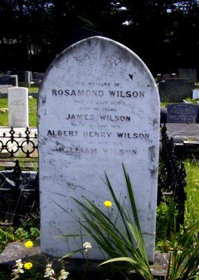 Wilson, Rosamond, James, Albert Henry